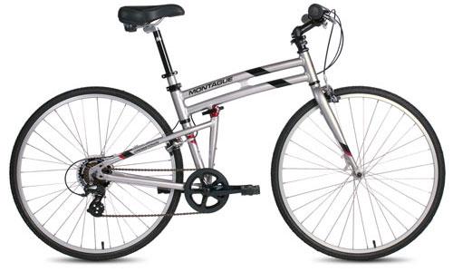 Crosstown folding bike open