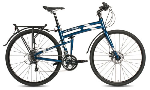 Navigator Folding Bike Open