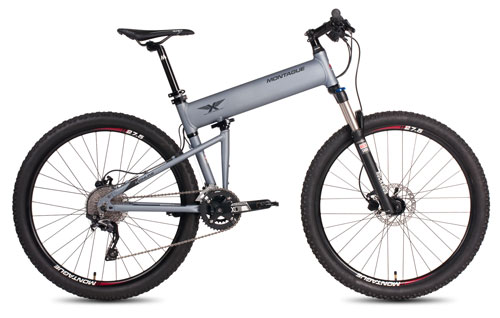 Paratrooper Highline Folding Bike Open