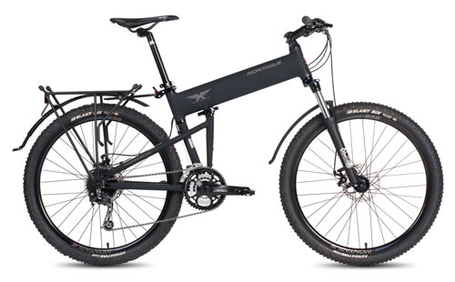 Paratrooper Pro folding bike open