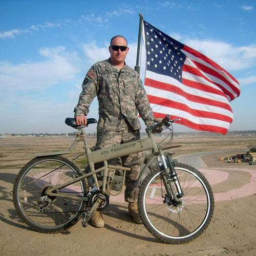 Montague Paratrooper Military Bike