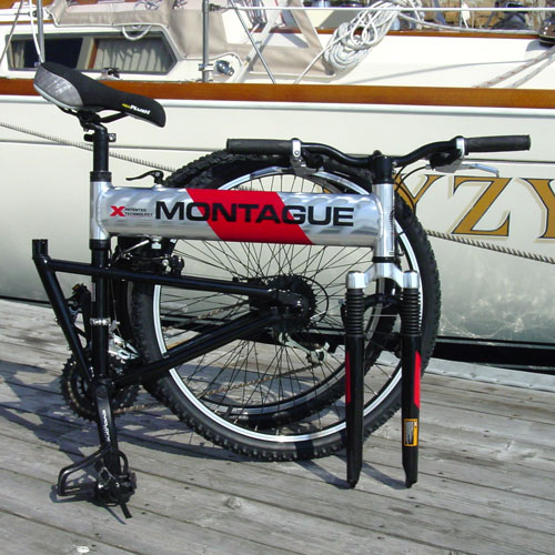First Montague X-Series Folding Bike