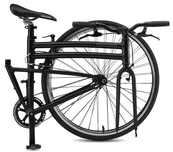 Boston Folding Bike Patented System