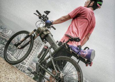 Robert Cheong An evening ride to the highest point of Desa Park City Kuala Lumpur.