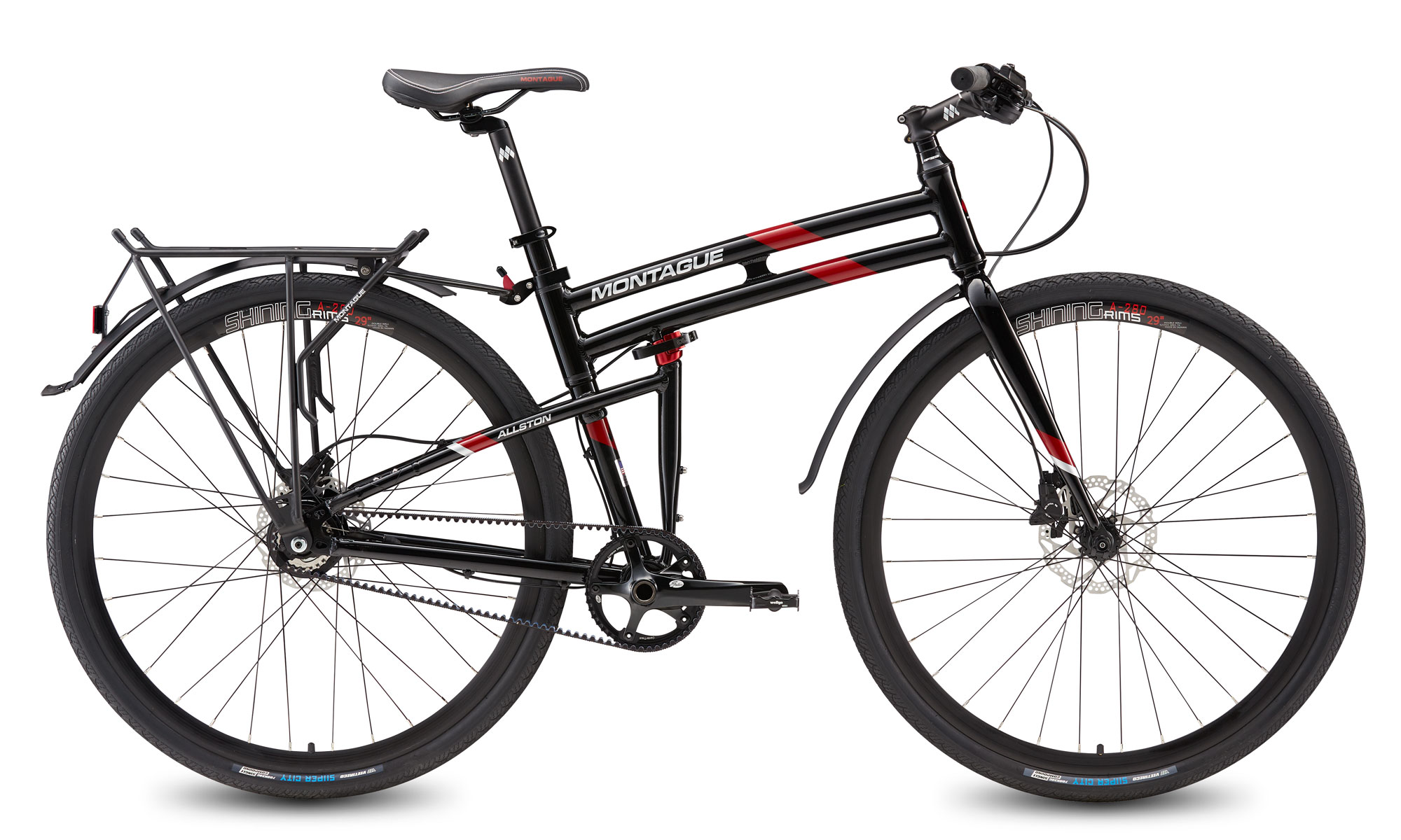 Allston Belt Drive Folding Bike