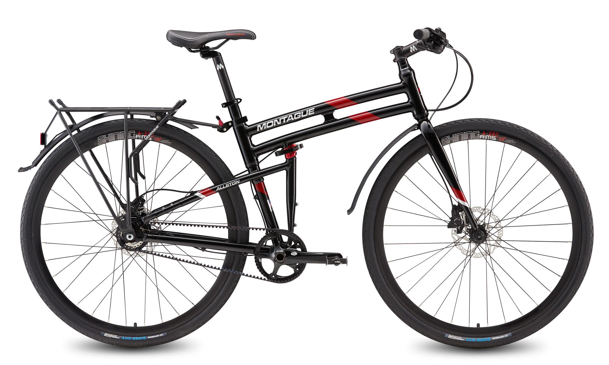Allston Belt Drive Folding Bike