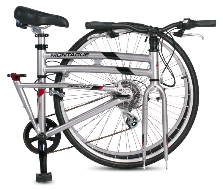 Crosstown DirectConnect Folding Bike Folded