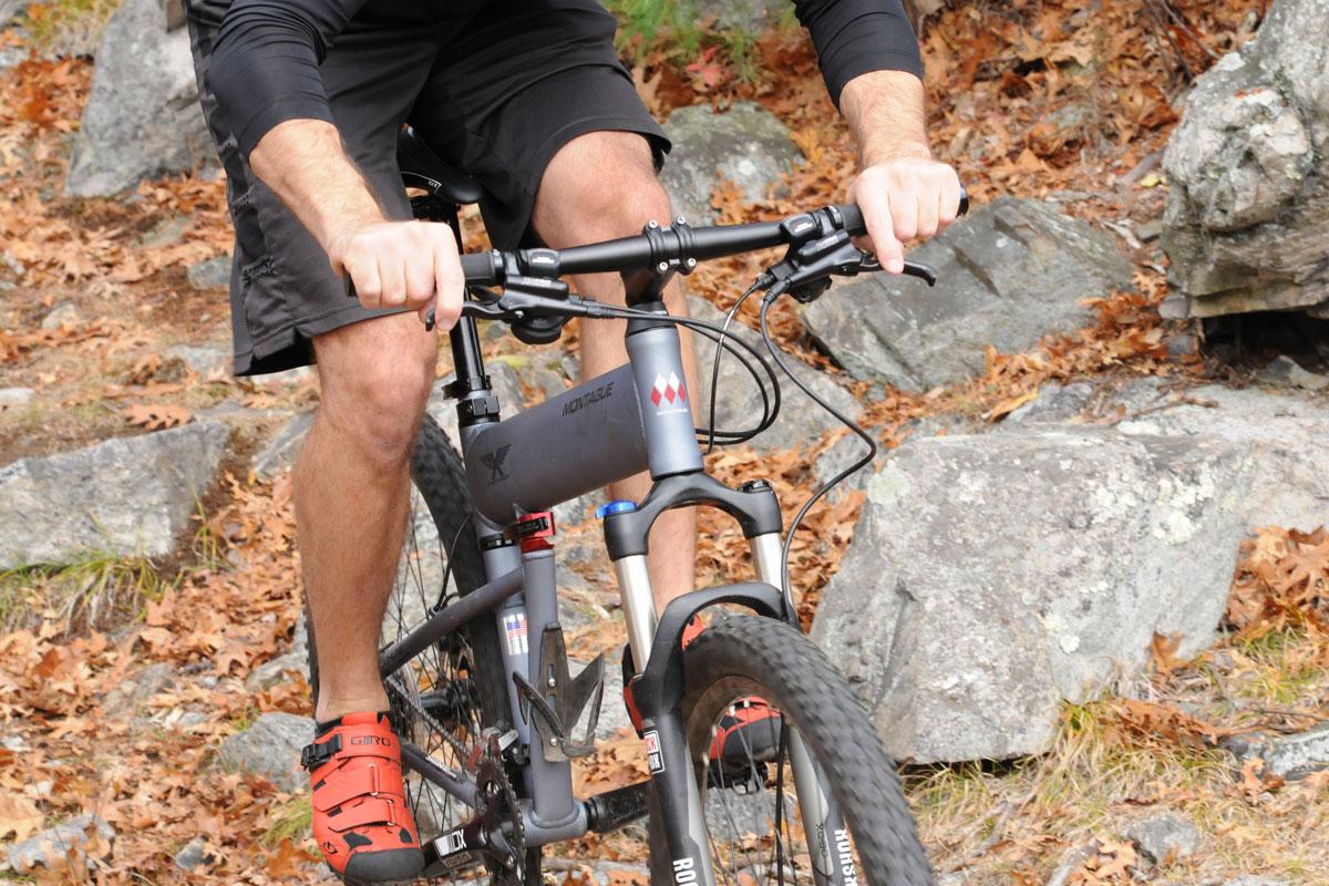 DirectConnect on mountain bike riding