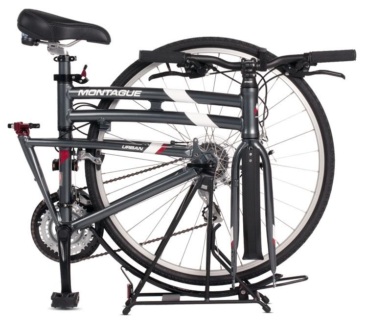 Montague Urban Folding Bike Folded