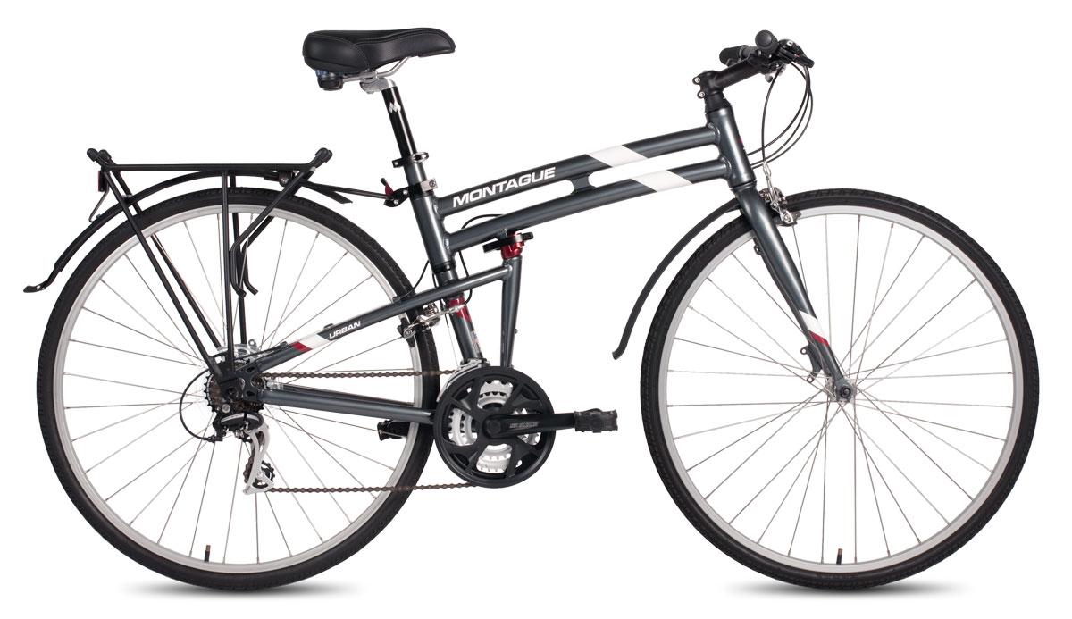 Montague Urban Folding Bike Open