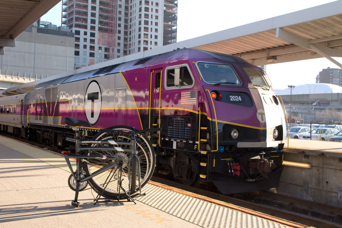 Urban-folded-near-train