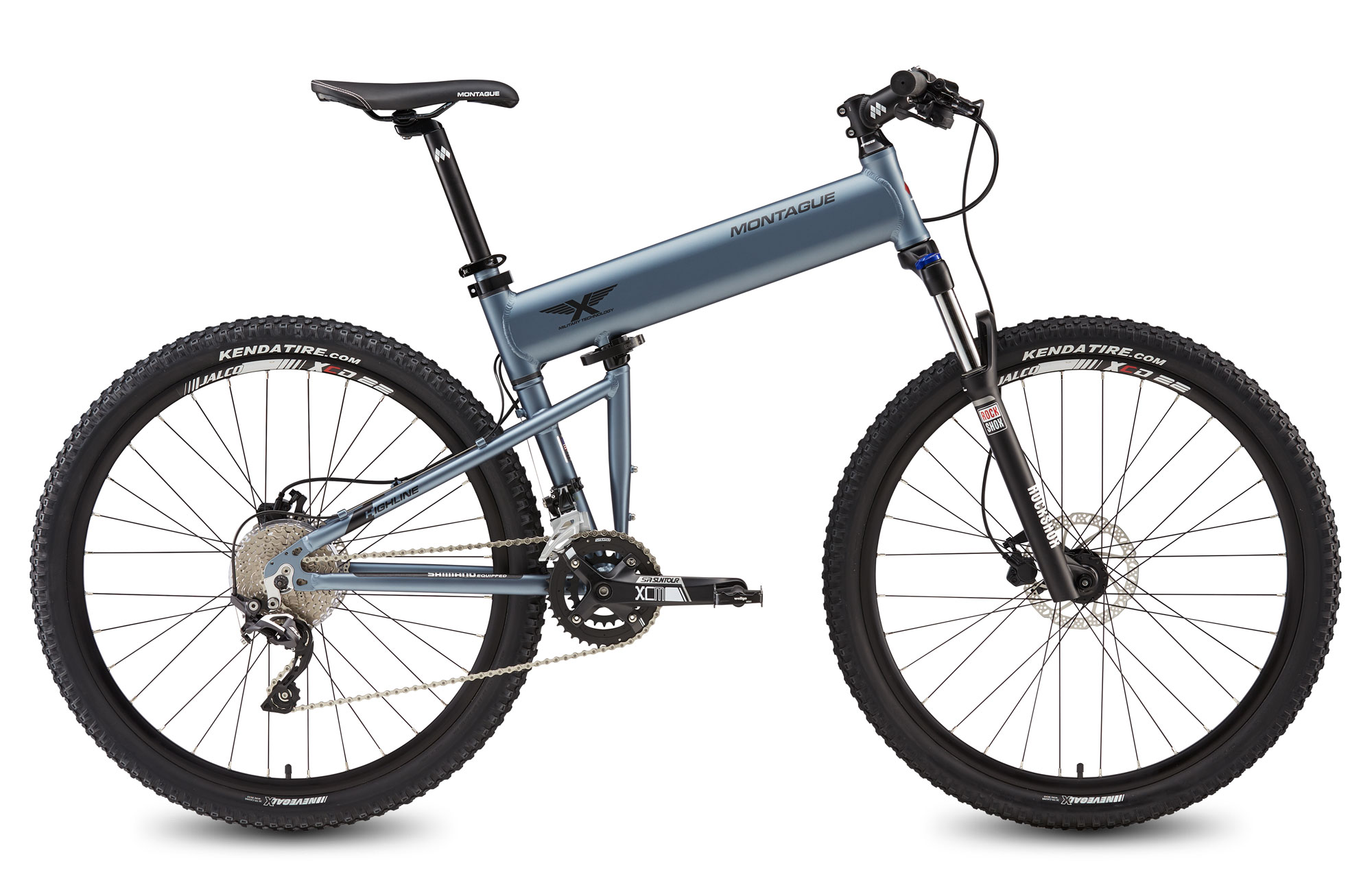 Paratrooper Highline folding mountain bike