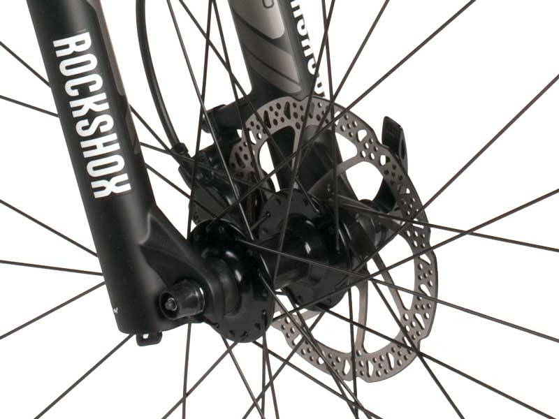 Paratrooper Highline Disc Brakes Closeup