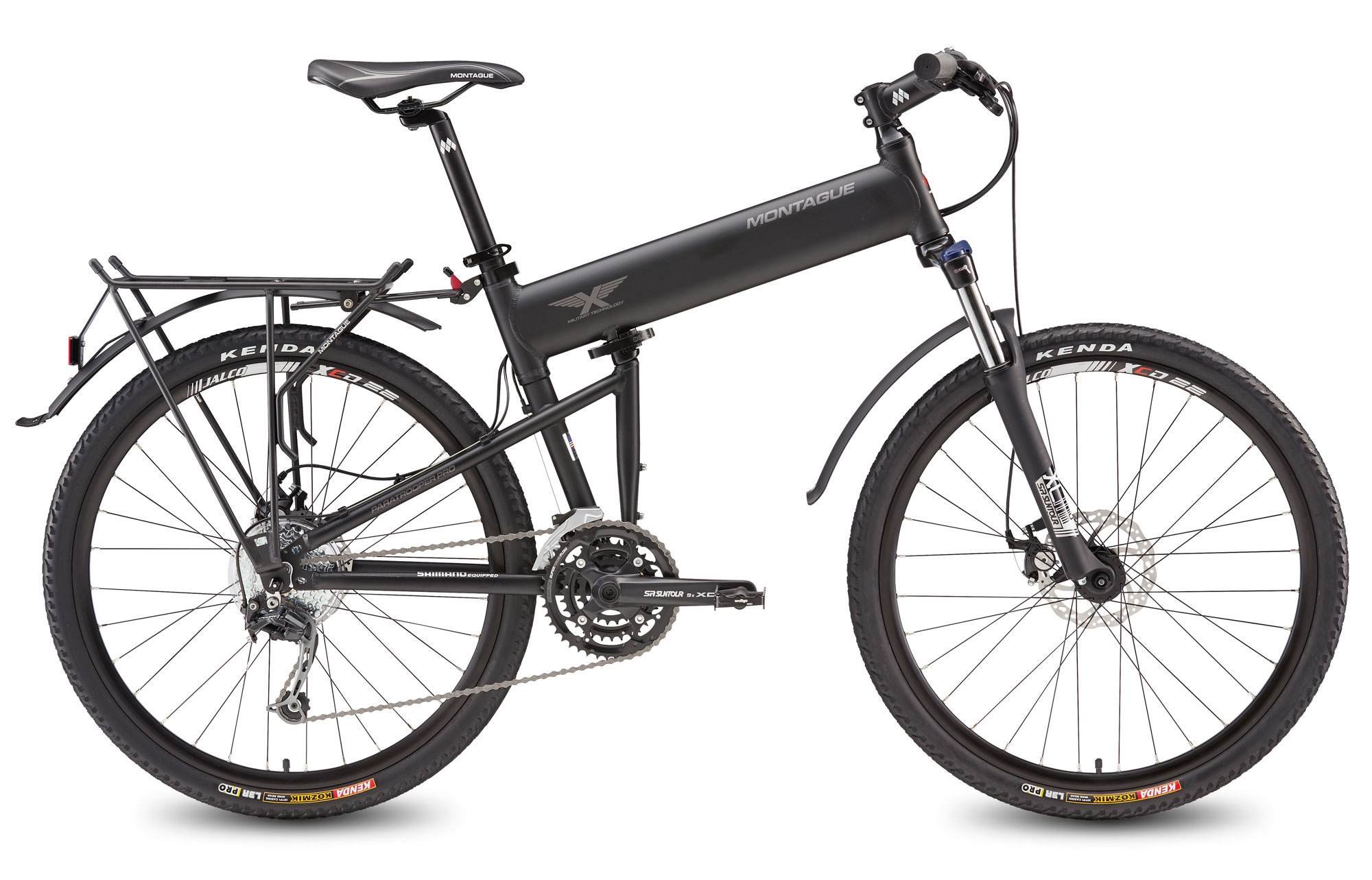 Paratrooper Pro DirectConnect Mountain Folding Bike