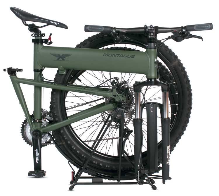 Paratrooper Folding Mountain Bike Folded