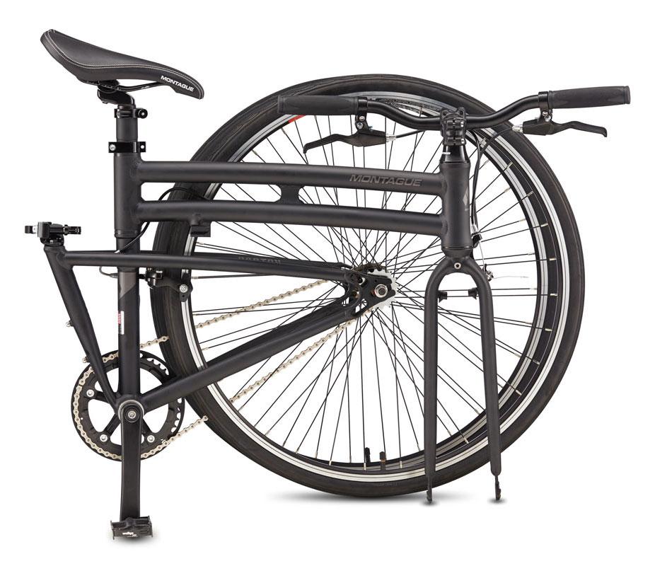 Boston Folding Bike Folded